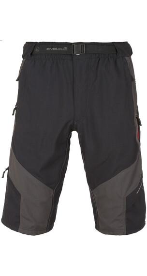 Endura Hummvee fietsbroek kort grijs/zwart